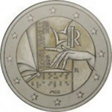 Italy 2009 - 2 Euro Com - 200th Ann Louis Braille (UNC)