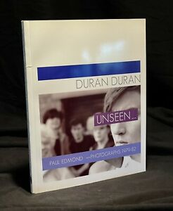 Duran Duran RARE Unseen book, Autographed by Paul Edmonds, with 6 postcards!