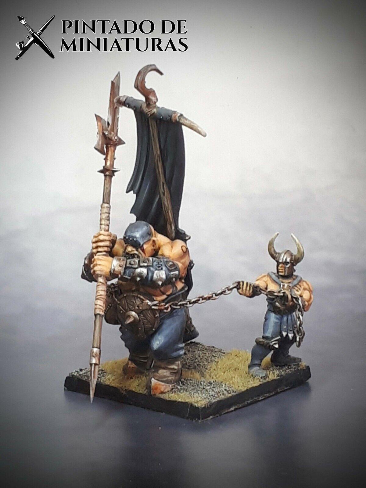 ✔ aos edad de Sigmar Warhammer Juegos Workshop Modelo ciudadela Pro Pintado caos