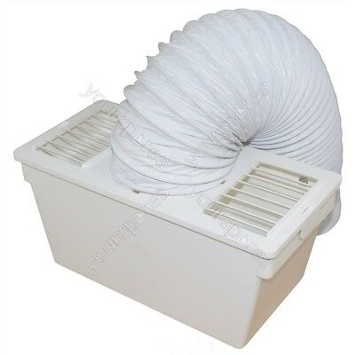 """Indoor Condenser Vent Kit Box With Hose for Zanussi Tumble Dryers 4/"""" 100mm"""