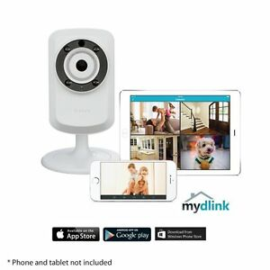 217c2e42a D-Link DCS-932L Wireless Day Night Cloud IP Home Camera Monitor iOS ...