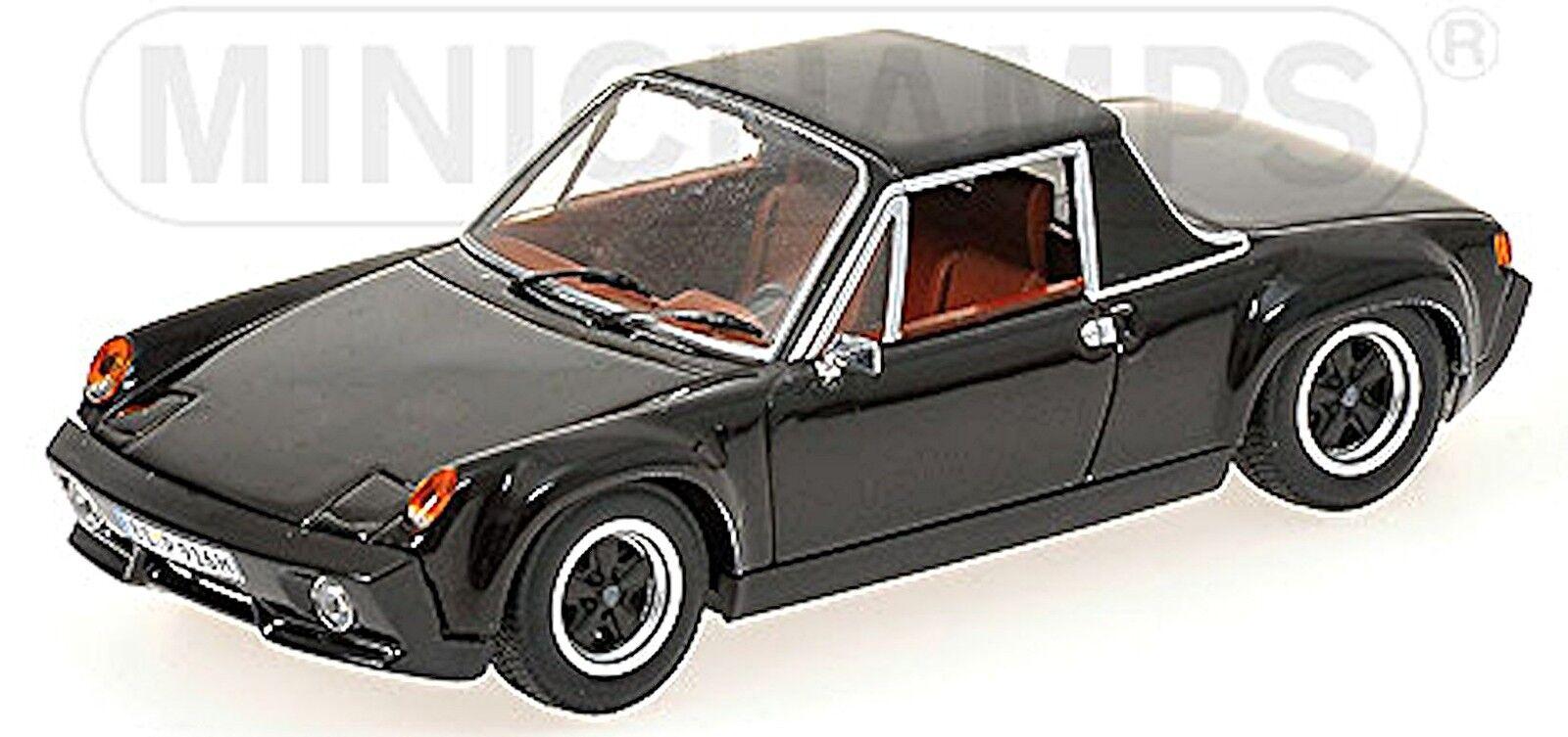 Noël, envoie de la joie Porsche 916 1971 Noir Black 1:43 MINICHAMPS | Pratique Et économique  | être Nouvelle Dans La Conception