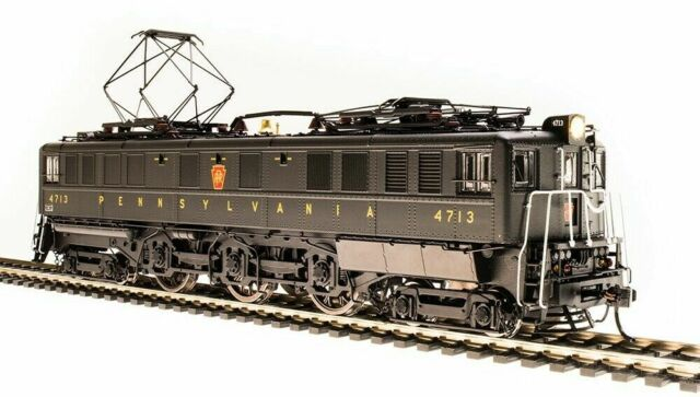 BROADWAY LIMITED 4706 HO SCALE PRR P5a Boxcab 4738 Freight Paragon3 Sound/DCC