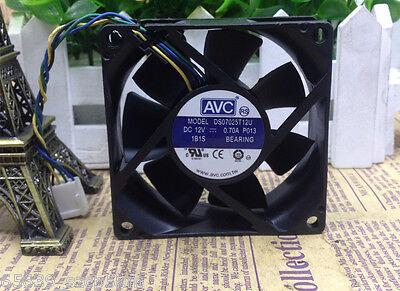 for AVC 7025 DS07025T12U Fan 12V 0.70A 4pin 70*70*25mm