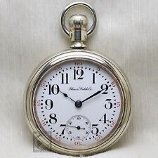 BIG 1907 Illinois Plymouth Watch Co Private Label RAILROAD Grade 79 Pocket Watch