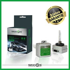 DUO-SET-SEIDOS-D3S-6000K-STANDARD-EDITION-Xenon-Brenner-Scheinwerfer-Lampe-NEU