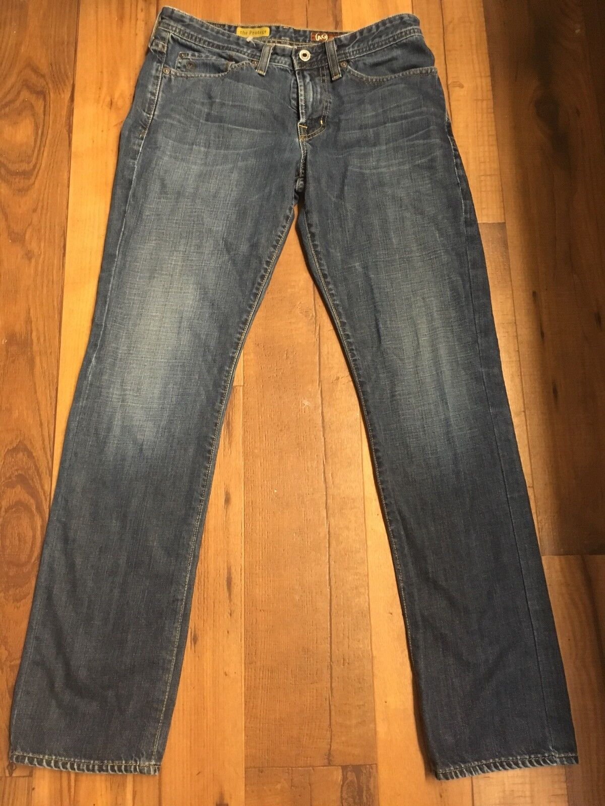 AG Adriano goldschmied 30 x 32 The Predoge Straight Leg  bluee Jeans
