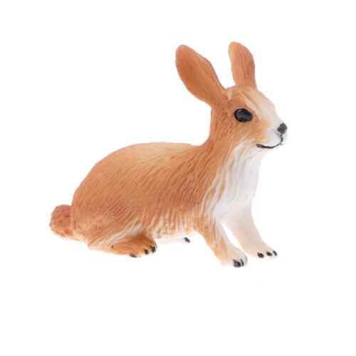 Realistic RVC Plastic Wild// Farm Animal Models Figurine Kids Educational Toys