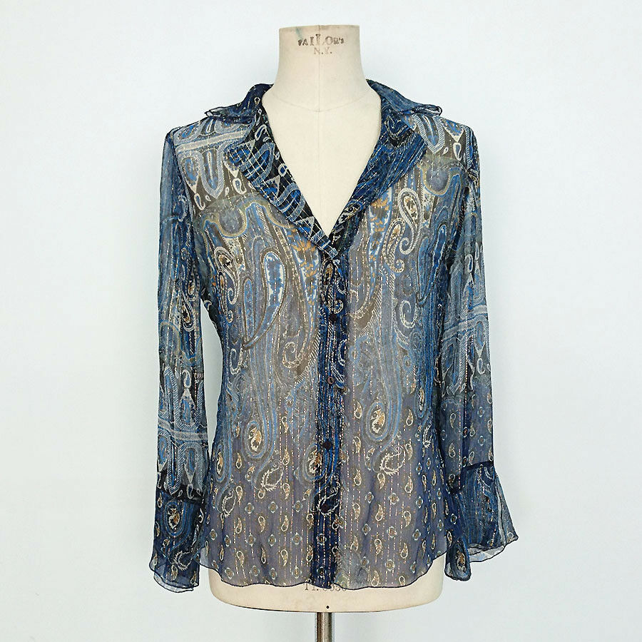 CAMICIA  VINTAGE mujer TRUSSARDI JEANS ART.7001  calidad oficial