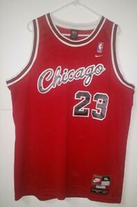 af3fc039fd3 Michael Jordan Nike JERSEY VTG Flight 8403 1984 Red Chicago Bulls ...