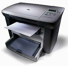 HP LaserJet M1005 MFP All in One Laser Printer, Scanner, Copier With 12A Toner*