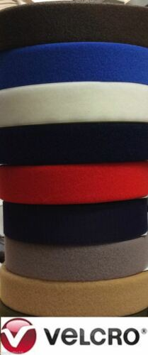 SEW-ON  25mm 50mm 100mm Assorted colours VELCRO® Brand