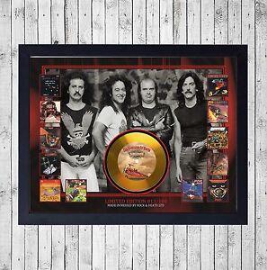 BARON-ROJO-AVENTURAS-CUADRO-CON-GOLD-O-PLATINUM-CD-EDICION-LIMITADA-FRAMED
