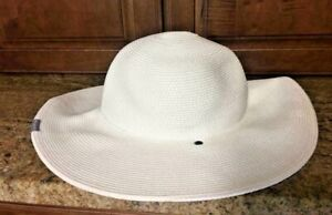 2c317a95b Details about $30 Columbia Women's Global Adventure Packable Hat, White,  Sm/Med No Chin Strap