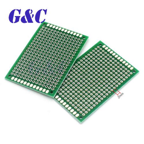 9x15cm 10PCS Prototype PCB Bread Board Tinned Universal Double Side FR4 2x8cm