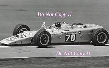 Graham Hill STP Lotus 56B Turbine Indianapolis 500 1968 Photograph 2