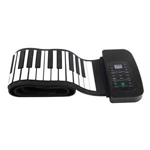 Mini-88-Tasti-Roll-Up-Tastiera-pianoforte-ricaricabile-con-altoparlante
