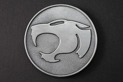 Thundercats Black//Silver Metal Belt Buckle