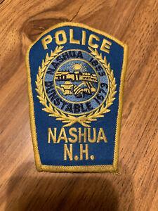 Nashua NH Police Patch