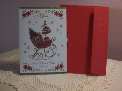 Special Christmas Wishes for Mom For Arts Sake Christmas Card