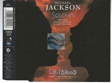 Michael Jackson Scream CD MAXI remixes janet