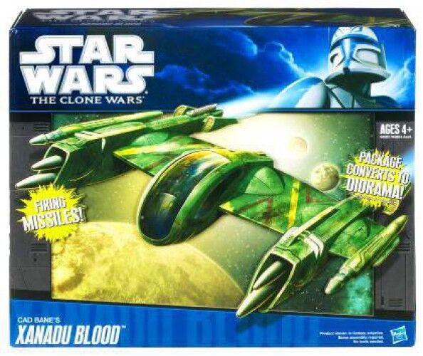 Star Wars Vehicles 2010 Cad Bane's Bane's Bane's Xanadu Blood Action Figure Vehicle 43224a