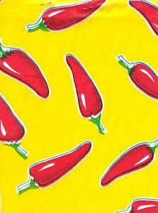 Image Is Loading RED CHILI PEPPER YELLOW BKGRND TEX MEX DINING