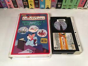 * Sport Goofy's Vacation Betamax NOT VHS 1984 Disney ...