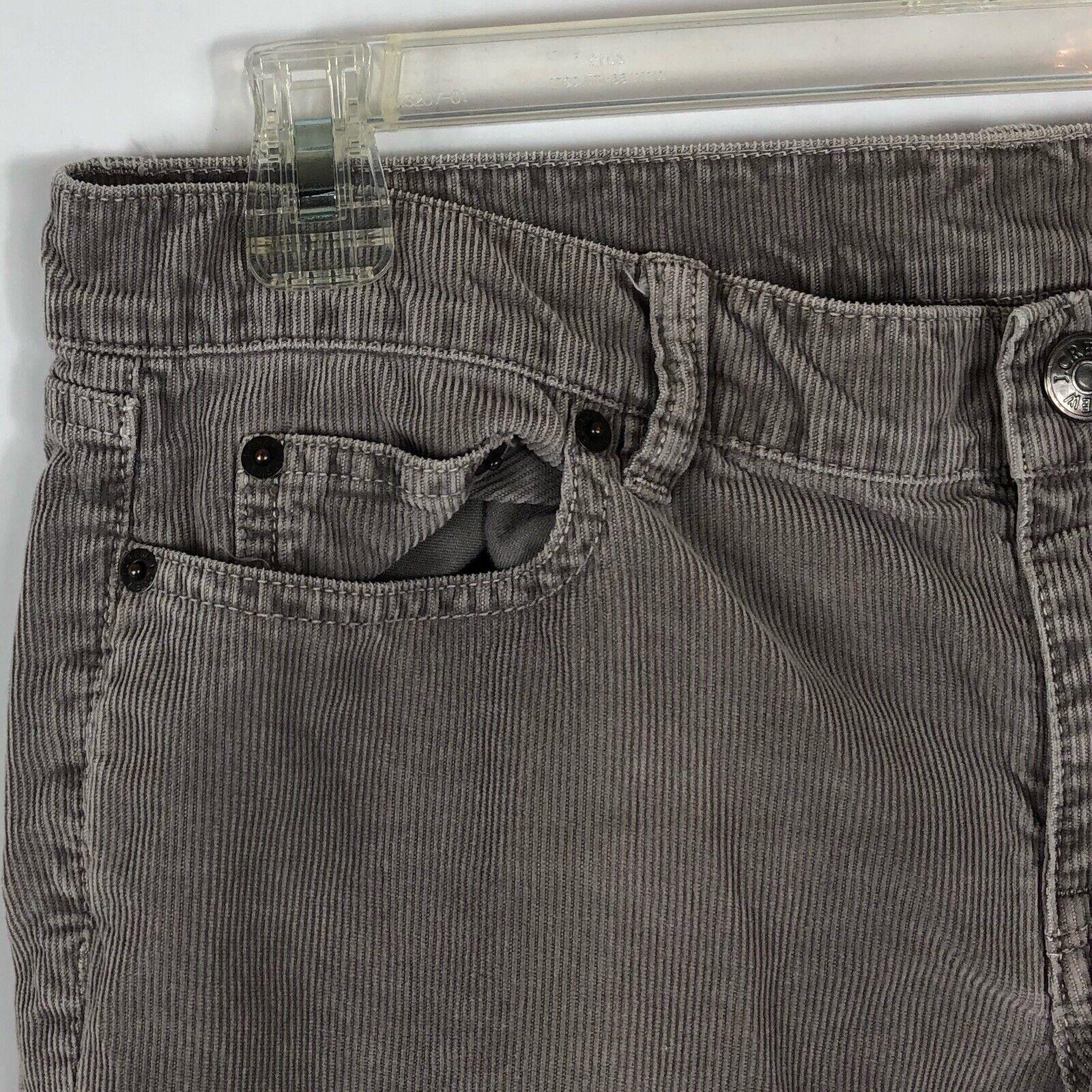 J. Crew Womens Size 30S Skinny Leg Corduroys City… - image 2