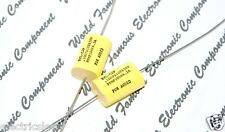 1pcs - REL-CAP PPMF 0.1uF (0.1µF 100nF) 630V 10% Axial Capacitor - FOR AUDIO