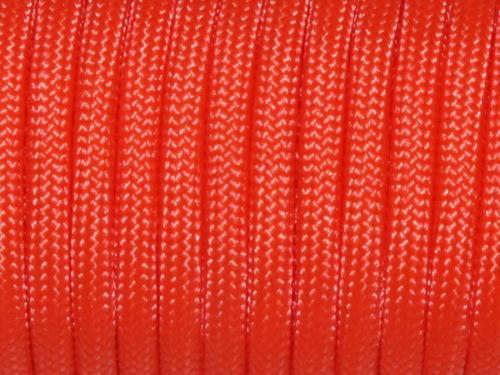 Wholesale 550 LB Paracord 100 ft environ 249.48 kg Strand made in USA Camo milspec Orange environ 30.48 m