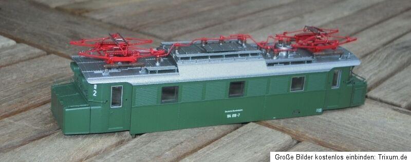 Piko 51000 H0 Cochecasa Locomotora Completo Vintage Eléctrica Br 104 verde DB Ep.4