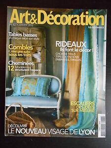 """Confiant """"art & Décoration"""" N°457 Janvier 2010 Riche Et Magnifique"""