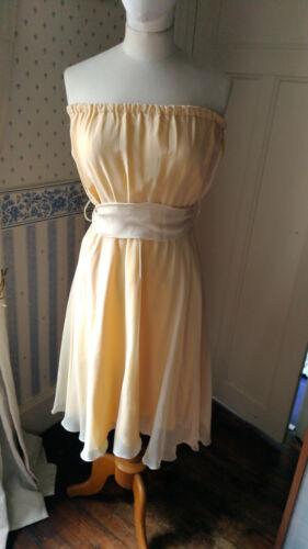 Vestido de T caída sin 40 Silk Tara precios tirantes Jarmon rwrZq8B