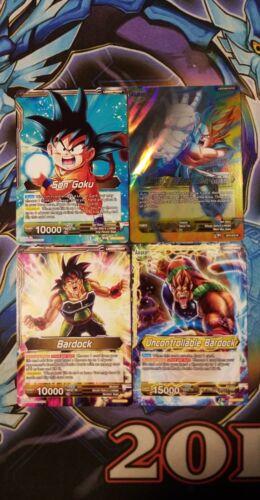 Dragon Ball Super Card Game Colossal Warfare Goku/'s Lineage Swap Deck