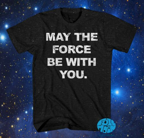 New Star Wars May The Force Be with You Vintage Classic Mens T-Shirt
