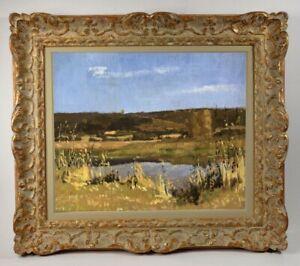 Henri-Andre-MARTIN-1918-2004-PEINTURE-PAYSAGE-AUTOUR-D-039-EYGALIERES-1942-15