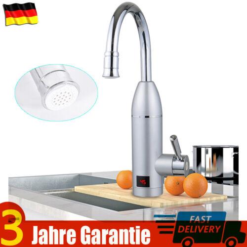NEU Elektrische Wasserhahn Waschbecken Kalt/&Heiß Armatur Durchlauferhitzer Küche
