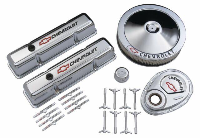 Chevrolet Performance ProForm 141-900 Chrome Dress up Kit Chevy Small Block  V8