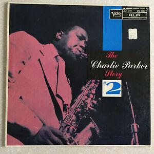 Charlie-Parker-MGV-8001-VERVE-CLEFF-Series-Jazz-Lp-Vinyl-Disc-Record-Saxophone