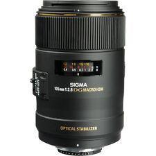 Sigma 105mm f/2.8 EX DG OS HSM Macro Lens - Canon Fit