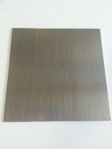 """set of 4 .125 1//8/"""" Aluminum Sheet Plate 6061 6/"""" x 6/"""""""
