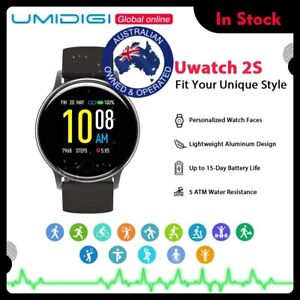"""UMIDIGI Uwatch 2S Sport Smart Watch 5ATM Waterproof 1.3"""" Touch  Android IOS"""