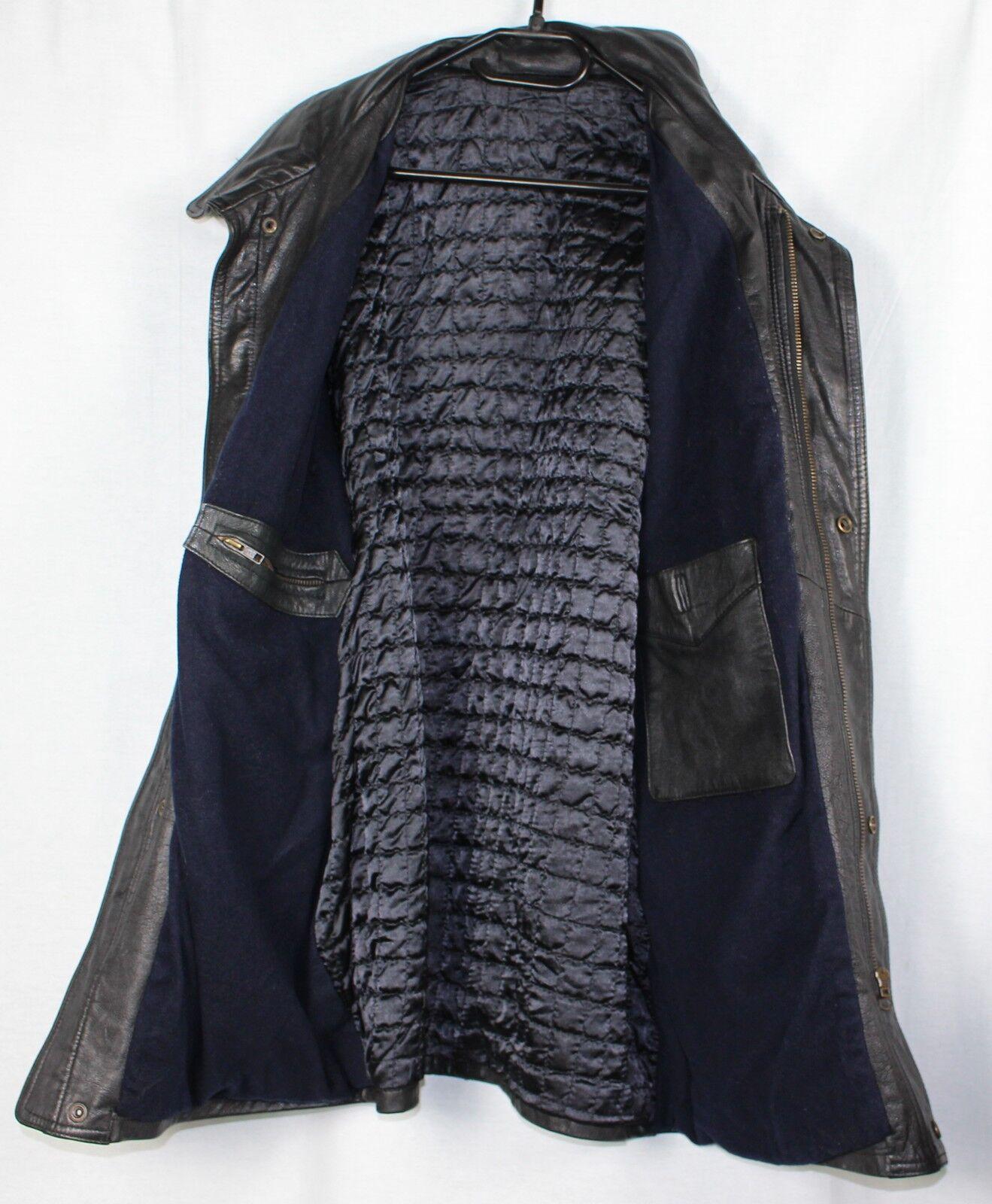 Manteau Veritable Cuir Taille 52 Très bon bon bon ètat e2ce76