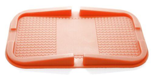 Antirutsch Matte Orange Pad Handy Halterung Halter Ständer Silikon Auto KFZ