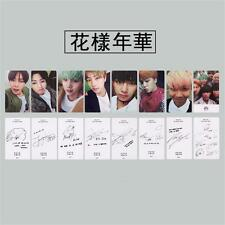 8pcs BTS BANGTAN BOYS Lomo Cards RUN I NEED YOU Signature Photocards JIN SUGA V
