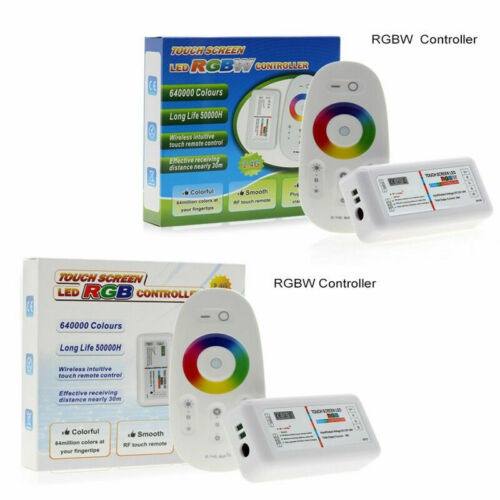 RGBW RGB RGBWC LED controller Touch Screen 2.4G 12-24V 18A Remote For LED strip