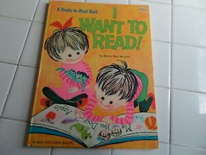I-Want-To-Read-A-Big-Golden-Book-1970-Children-039-s-OVERSIZED