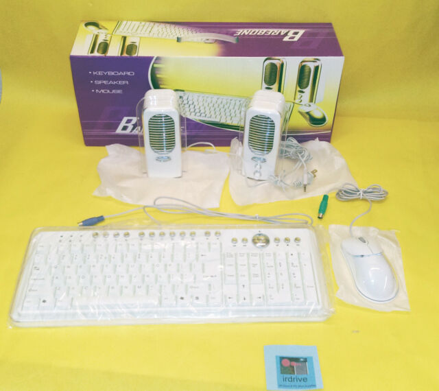 Black 2-in-1 PS//2 Keyboard /& Optical Mouse Kit NEW - Canada