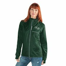 Navy Small GIII For Her Adult Women Cut Back Soft Shell Jacket